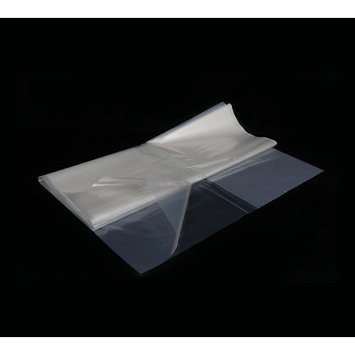 Plástico de obra reciclado de polietileno 400x10 cm transparente