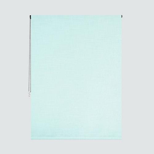 Estor enrollable translúcido solea verde de 90x220cm