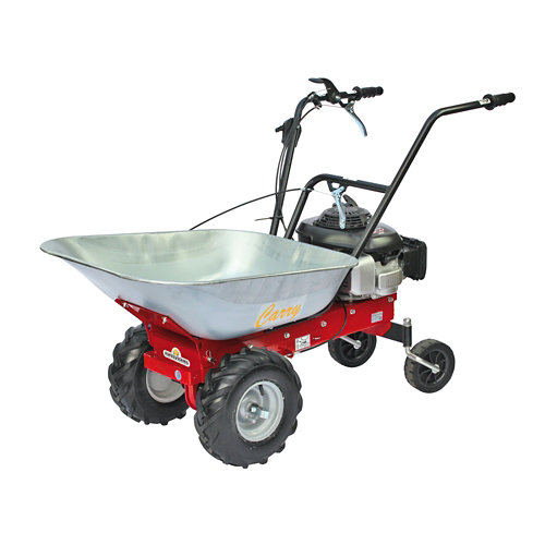 Carretilla motorizada de acero carry 4.8 cv 170 cc 100 kg carga