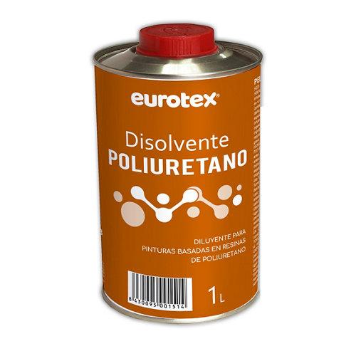 Disolvente poliuretano eurotex 1l