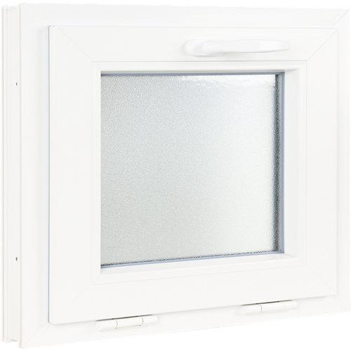 Ventana pvc blanca basculante 60x50 cm
