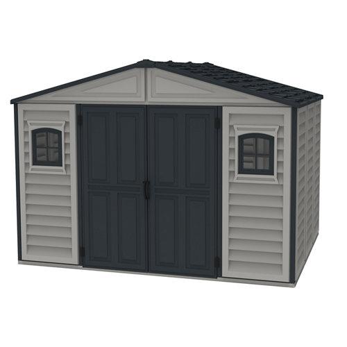 Caseta de resina woodbridge plus ii de 318.7x233.2x239.7 cm y 7.64 m2