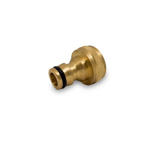 Conector rápido natrain de latón cromado 3/4 mm