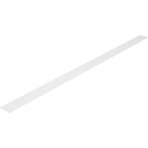 Tapajuntas de pvc blanco de 50 mm plano