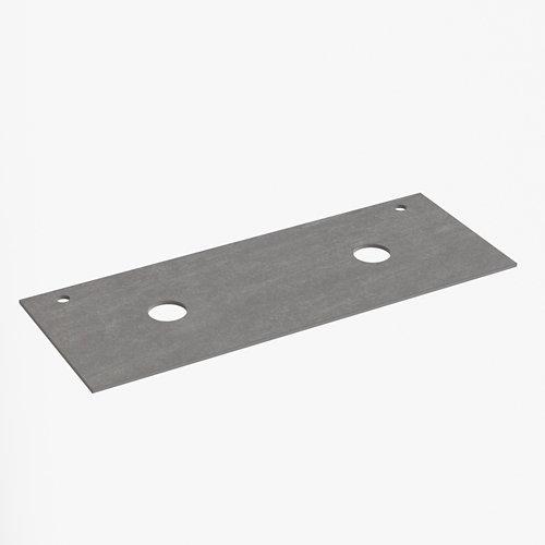 Encimera lavabo dekton antracita de 121x1.2x46 cm