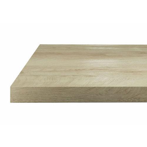 Encimera laminada hidrófuga aspecto madera h5415 roble claro 65x315x3,8 cm