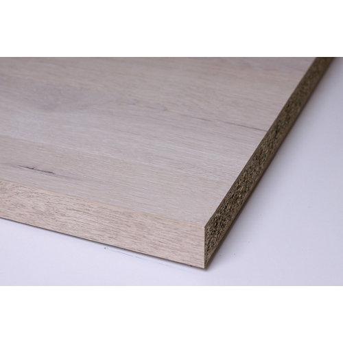 Encimera laminada hidrófuga aspecto madera 802 roble 65 x 315 x 3,8 cm