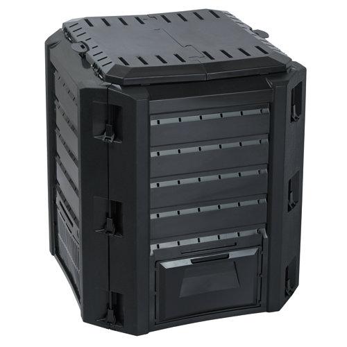Compostador para exterior polipropileno 380 litros