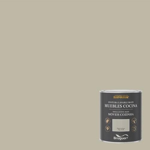 Pintura para muebles rustoleum 750ml beige avellana