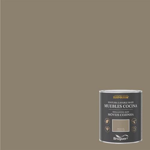 Pintura para muebles rustoleum 750ml marrón café