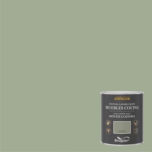 Pintura para muebles rustoleum 750ml verde oliva
