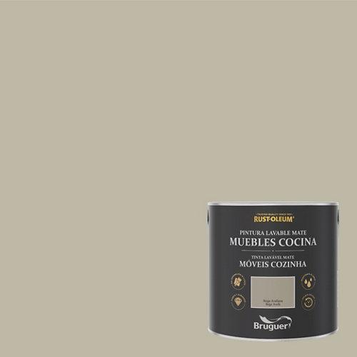 Pintura para muebles rustoleum 2.5l beige avellana