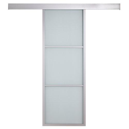 Conjunto puerta corredera cristal aspen 83 cm