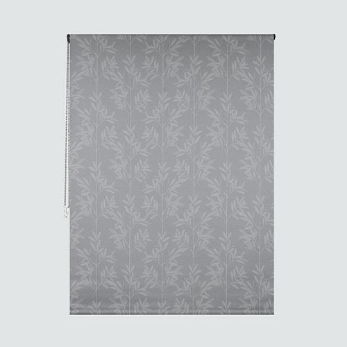 Estor enrollable ceylan gris de 75x250cm