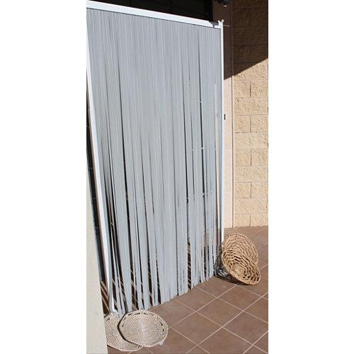 Cortina de puerta multicolor tradicional mijares de 9.5 x 120 cm