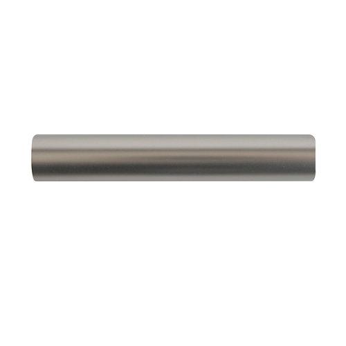 Barra de cortina metal d 16 mm 180 cm basic plata