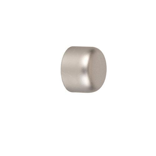 2 terminales tapón d 16 mm basic plata