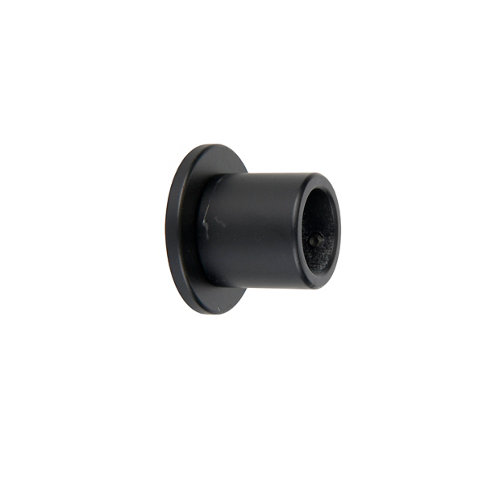 Soporte lateral d 16 mm basic negro