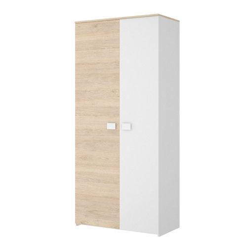 Armario ropero de 2 puerta/s dabih de 95x205x53 cm