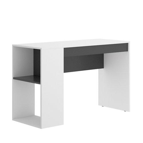 Mesa de escritorio de melamina thane brillo 74x115x50 cm