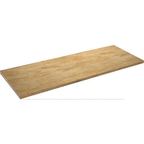 Encimera laminada madera playa wood madera envejecida 63 x 366 x 38 mm