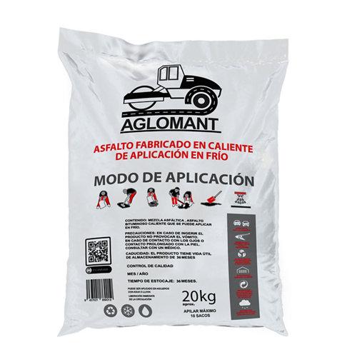 Saco de asfalto para aplicacion en frío 20 kg