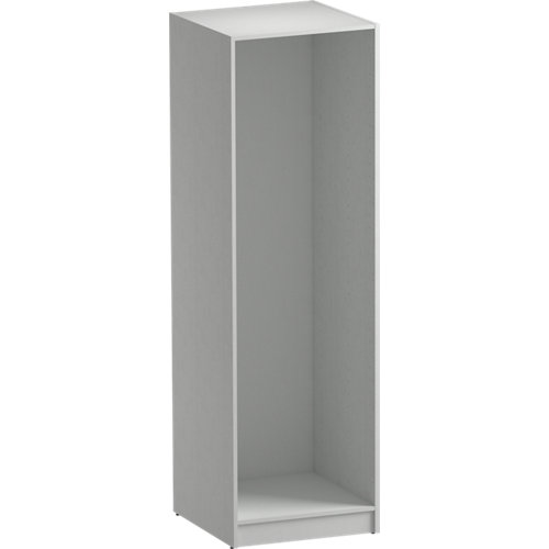 Composición nº71 spaceo home armario kit vestidor sin puertas textil 200x60x60cm