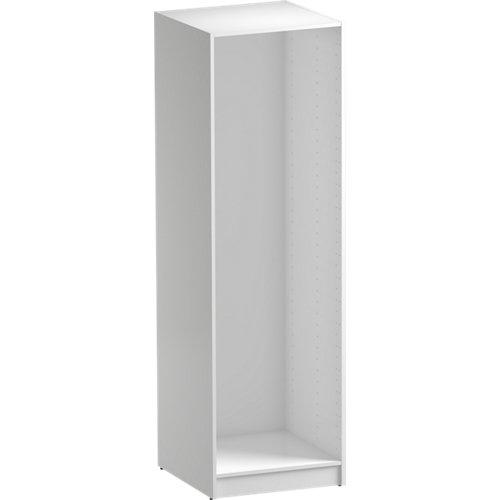 Composición nº88 spaceo home armario kit vestidor sin puertas blanco 200x60x60cm
