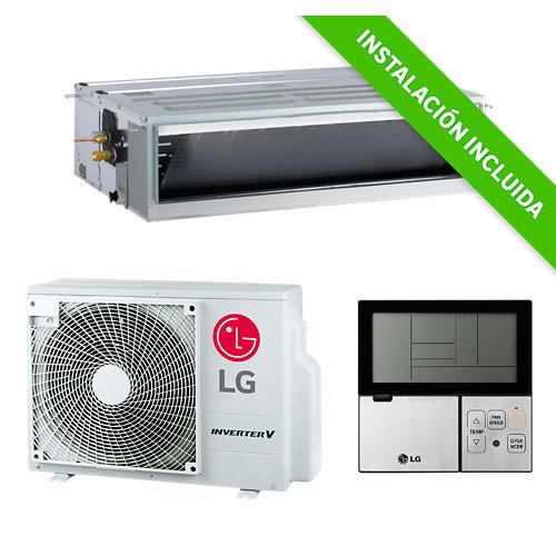 Aire acondicionado por conductos lg um30fc 7500 fg de alta presión