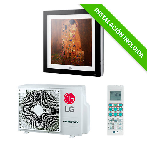 Aire acondicionado 1x1 lg artcool wifi 2000 fg