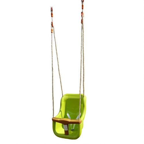 Columpio soulet silla bebé plástico verde 25x55x38cm