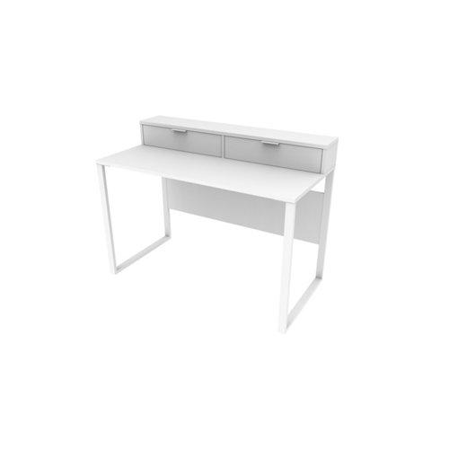 Mesa de escritorio slim blanco 90x120x60 cm