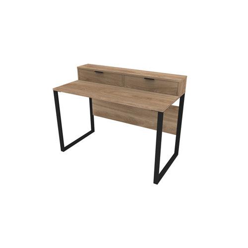 Mesa de escritorio slim dark winter 90x120x60 cm