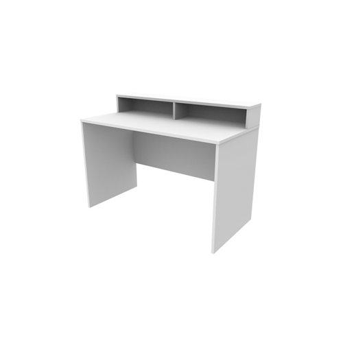 Mesa de escritorio slim h blanco 90x120x60 cm