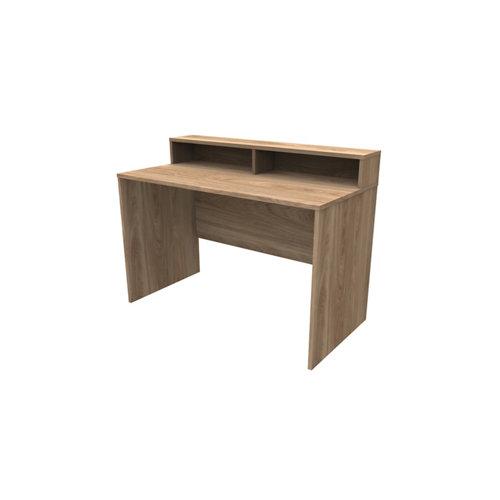 Mesa de escritorio slim h dark winter 90x120x60 cm