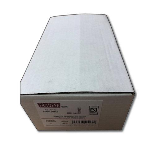 Caja 18 unidades codo press 16mm