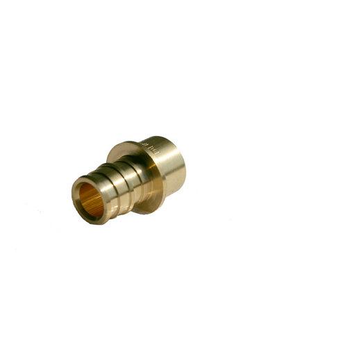 Adaptador cobre 15-pex 16 anillo expansor
