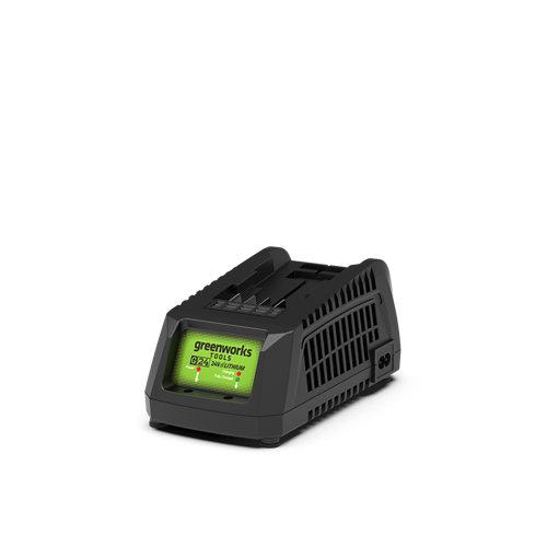 Cargador de pilas para batería de herramientas multifunción greenworks de 24 v d