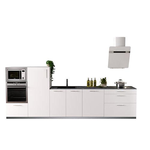 Cocina en kit delinia id sofia blanco 3.60 m