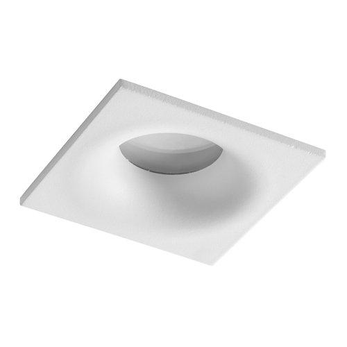 Foco empotrable cuadrado blanco d8.5 blaisip65