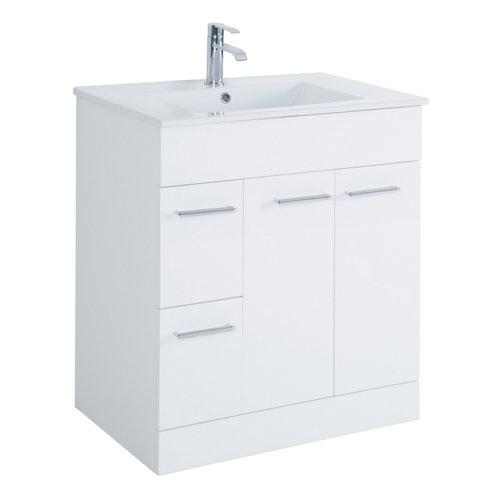 Mueble de baño con lavabo motril blanco 70x35 cm