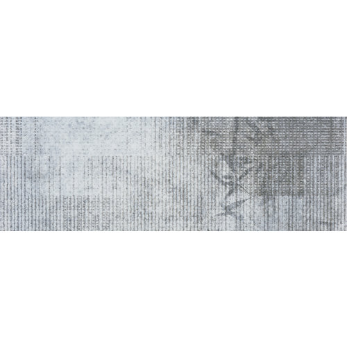 Baldosas murales de pasta blanca gris / plata