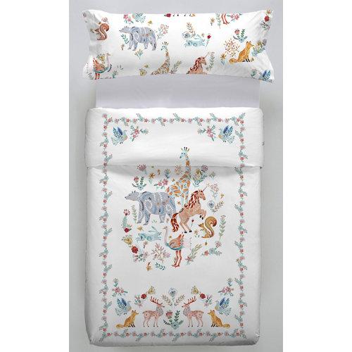 Funda nórdica alcorquin multicolor para cama 90 / 105 cm