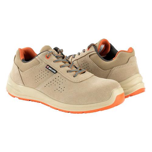 Zapatos seguridad s1 bellota flex beige t45