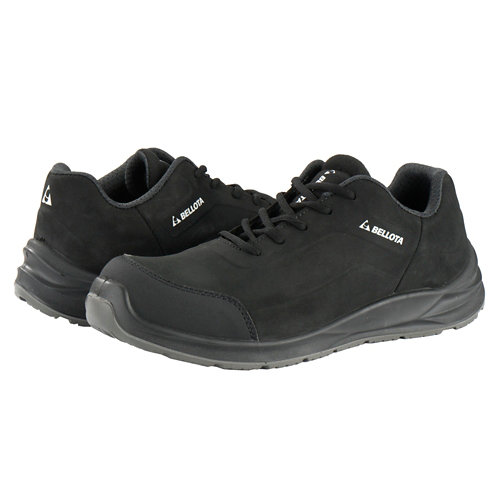 Zapatos seguridad s3 bellota flex negro t45