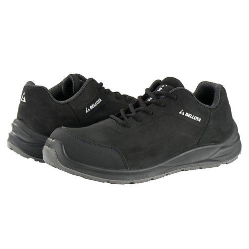 Zapatos seguridad s3 bellota flex negro t46