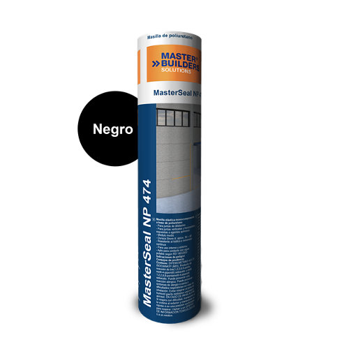 Masilla pu masterseal np474 0. 3l negro
