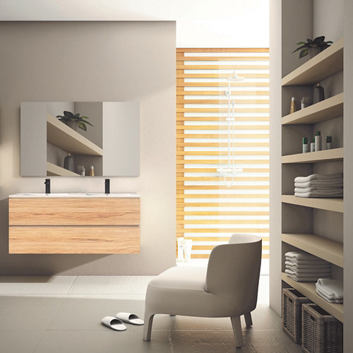 Mueble de baño con lavabo laos 120x45 cm