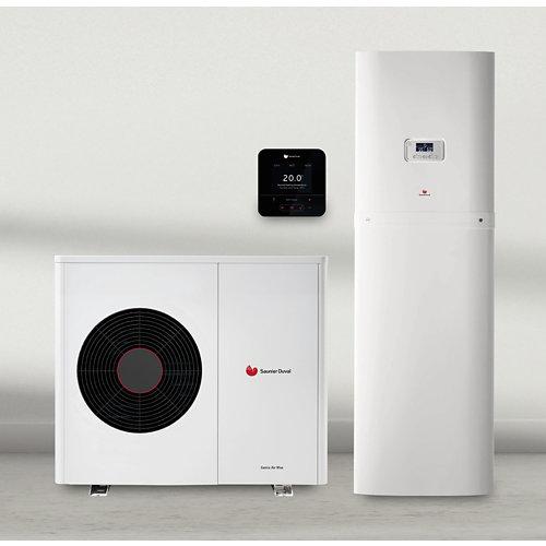 Instalación saunier duval geniasetmax8 100m2 (radiadores)