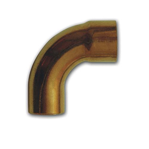 Curva 90 cobre m-h 15 mm bolsa 4 unidades